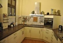 Ferienwohnung Blick vom Kaminzimmer in die Küche_1